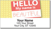 Name Tag Address Labels