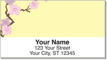 Sakura Print Address Labels