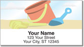 Fun on the Beach Address Labels