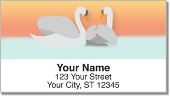 Mute Swan Address Labels