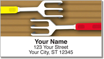 Tools of Gardening Address Labels