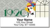 Roaring Twenties Address Labels