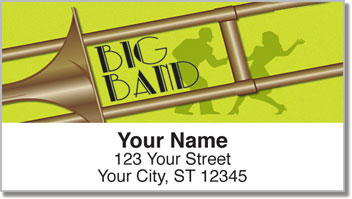 Big Band Address Labels