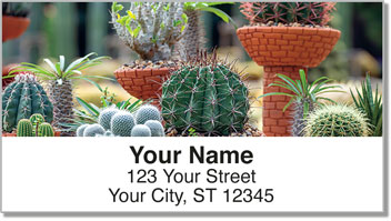Cactus Garden Address Labels