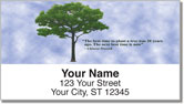 Arbor Day Quote Address Labels