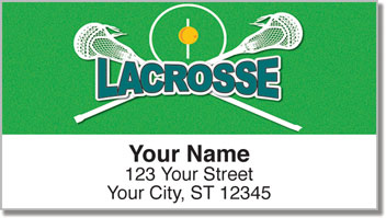 Lacrosse Address Labels