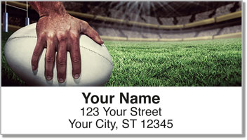 Rugby Address Labels