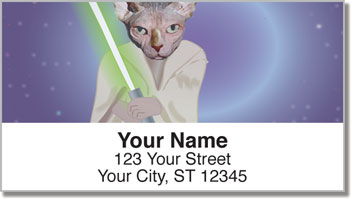 Pets in Costume Address Labels