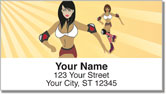Roller Derby Address Labels