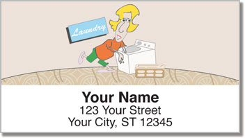 Cleaning House Address Labels