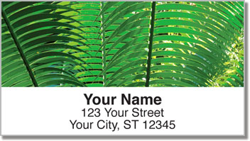 Palm Branch Address Labels