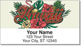 Hawaii Vacation Address Labels