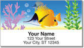 Tropical Fish Address Labels