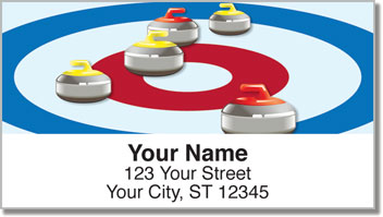 Curling Address Labels