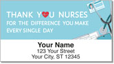 Nurse Address Labels