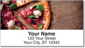 Pizza Address Labels