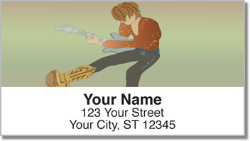 Rock Star Address Labels