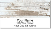 Distressed Wood Address Labels