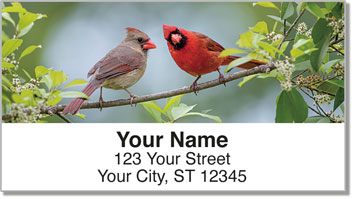Redbird Address Labels
