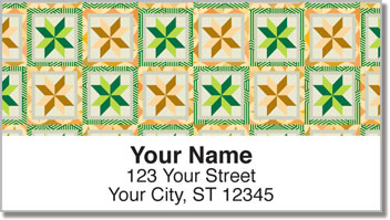 Quilting Address Labels
