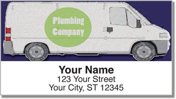 Plumber Address Labels