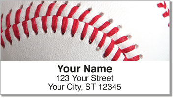 Classic Baseball Address Labels