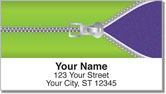 Zipper Address Labels