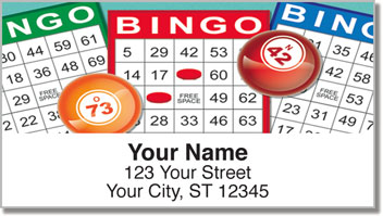 Bingo Address Labels