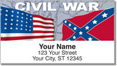 Civil War Address Labels