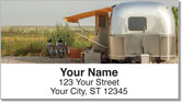 Vintage Camper Address Labels