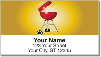 Cookout Address Labels