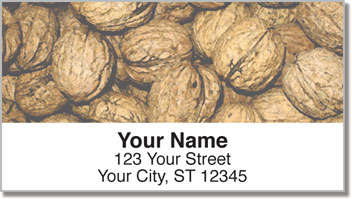 Go Nuts! Address Labels