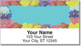Hawaiian Lei Address Labels