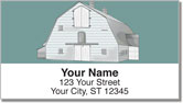 Barn Style Address Labels