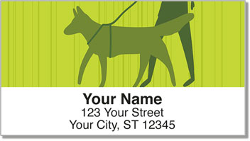Walk the Dog Address Labels