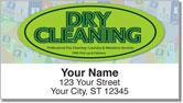 Dry Cleaning Address Labels