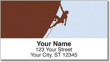 Climbing Gear Address Labels
