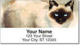 Siamese Cat Address Labels