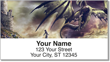 Castle Happening Address Labels