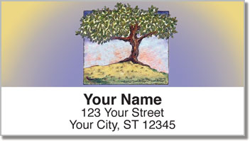 Solitary Tree Address Labels