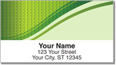 Square & Swirl Address Labels