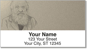 Famous Scientist Address Labels