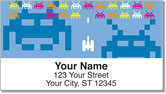 Retro Arcade Address Labels