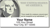 George Washington Address Labels