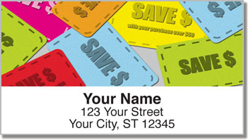 Coupon Clipper Address Labels
