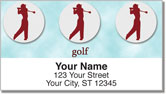 Teeing Off Address Labels
