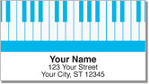Piano Keyboard Address Labels