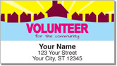 Volunteer Address Labels
