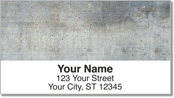 Rock Texture Address Labels