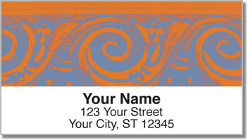 Elegant Scroll Address Labels
